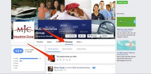 fb reviews mjc insurance